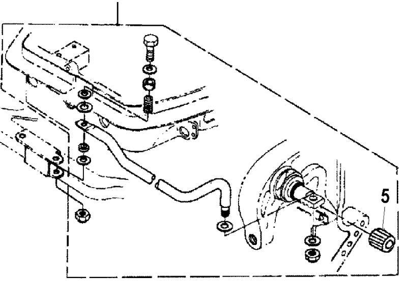 853824A1 Anschluss-Satz Lenkung Mercury 30 Lightning (430 cm³)